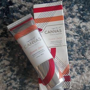Antropologie Capri Blue canvas hand cream